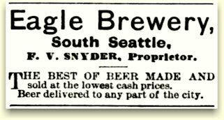 Eagle Brewery ad 1883