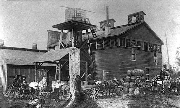 Bay View Brewery c.1886 - image
