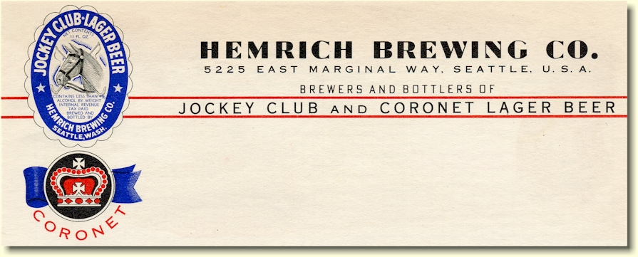 Hemrich Brewing Co. ltrhd. c.1938 - image
