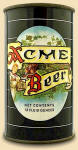 Pacific Can Co. Marvel-Lined Acme Beer can 1940