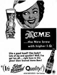 1949 Acme ad Hi IQ and Slow Brewed