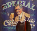 Special Columbia Brew label -  image