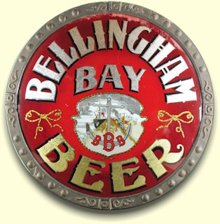 R.O.G.  Bellingham Bay Beer sign
