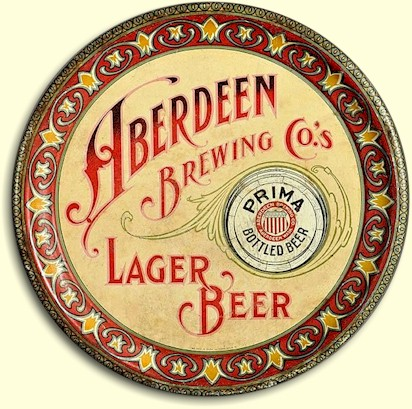 Aberdeen Brg. Co. Lager Beer tray
