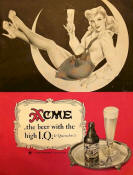Acme Beer ad ca.1946 by Varga