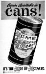 Acme Beer can for 1947