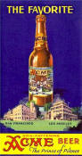Acme Prince of Pilsner card ca.1935