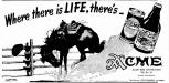 "Acme ad ""Where there's Life"" from 1938"