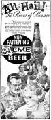 Acme Beer ad Prince of Pilsner ca.1935