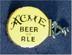 Acme Beer, crimp-on cap - image