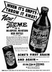 Acme intro qne-way bottle June 1947
