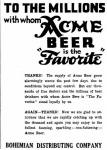 Acme ad July 1934 The Favorite
