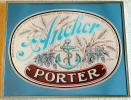 Framed Anchor Porter Label display