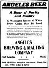 Angeles Beer ad Bellingham 1907 - image