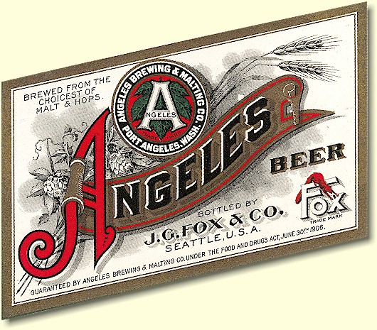 Angeles Beer label - header graphic