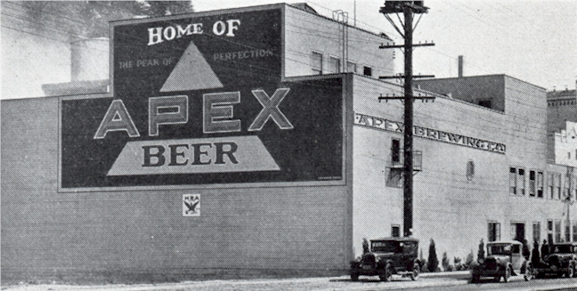 Apex Brewery, c.1934 - image