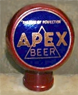 Apex Beer, ball tap knob - image