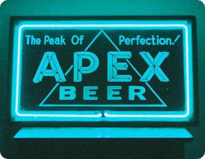 Apex Beer neon sign - image