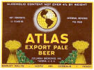 Columbia's Atlas Beer label -  image