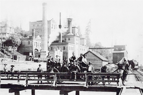 Bay View Brewing Co. c.1898 - image