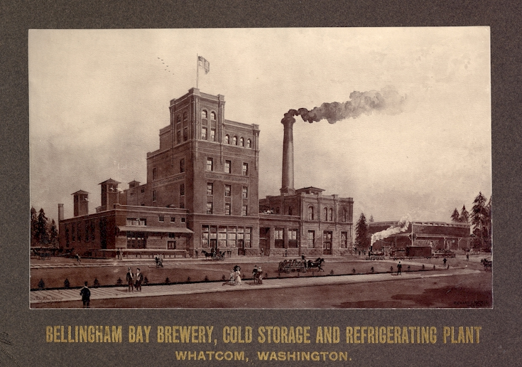 Bellingham Bay Brewery - photo c.1903