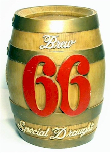 Brew 66 barrel bank - image