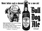 Bull Dog Ale by Acme 1952