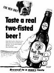 intro Bull Dog Beer Summer 1952