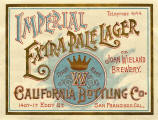 Calif. Bottling Wieland extra pale label