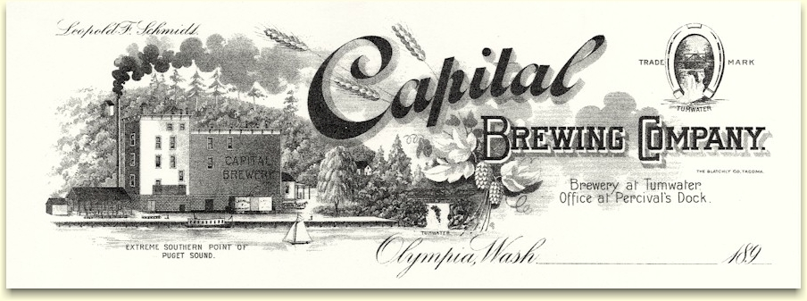 Capital Brewing Co. letterhead c.1900 - image