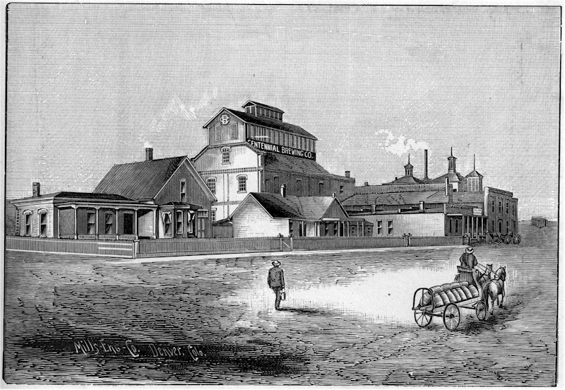 Centennial Brewery in early 1880s - image