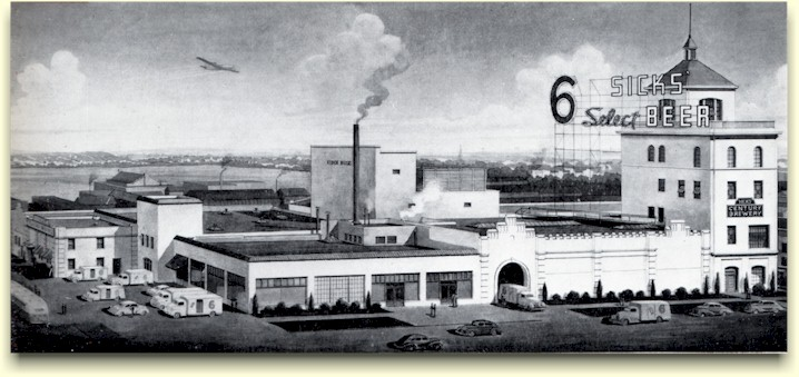 Century Brewery drawing, ca.1944
