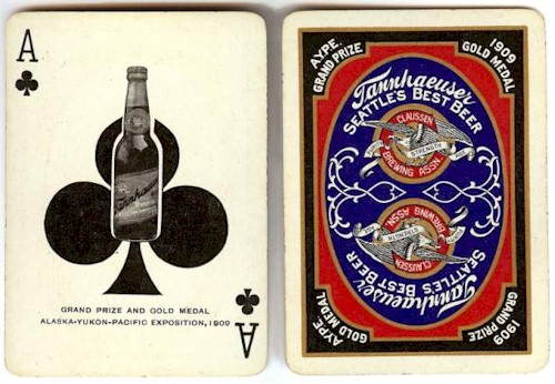Playing cards c.1910 - image