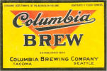 Columbia Brew label, c. 1932 -  image