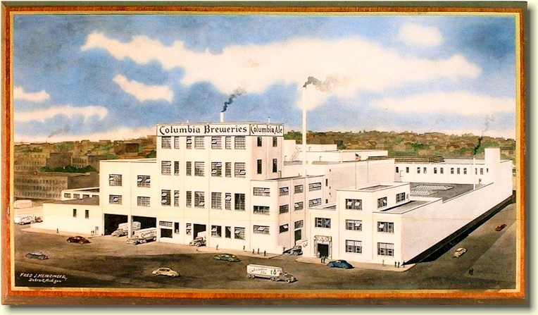Columbia Brewery drawing, ca.1941