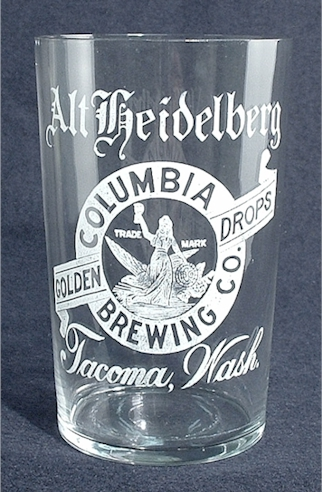 history of the columbia brewing co of tacoma