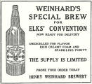 1912 ad for Elks Special Brew