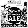 Englishtown Ale introduction Oct. 1936