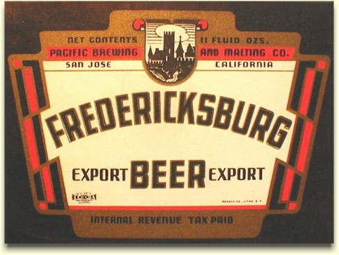 Fredericksburg IRTP Beer label