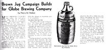 1935 ad for Globe draft beer - image