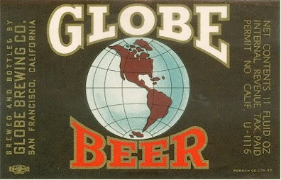Globe Beer label - U-permit