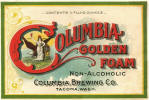 Columbia's Golden Foam non-alcoholic beer