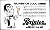 Rainier for Good Cheer ad, c.1941 - image