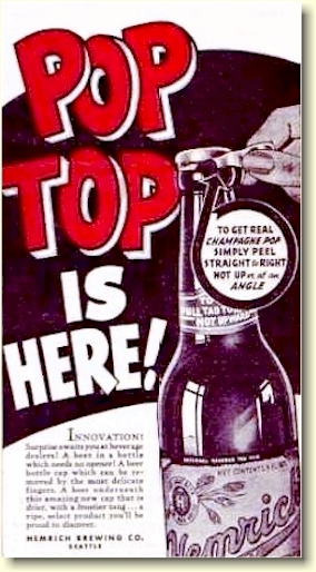 Hemrich Pop Top ad, c.1939 - image
