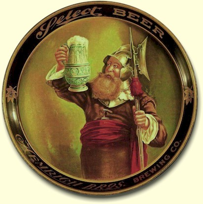 Hemrich Select beer tray Night Watchman - image
