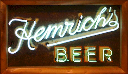 Hemrich Beer neon sign - image