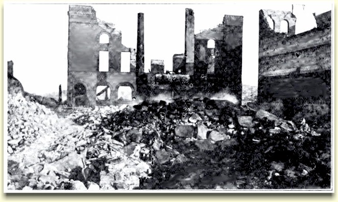 Ruins of the Hiberia brewery ca.1906