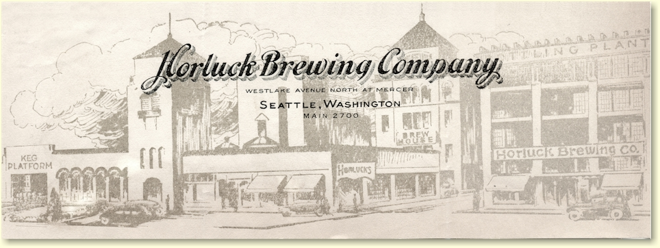 Horluck Brewing Co. letterhead - image
