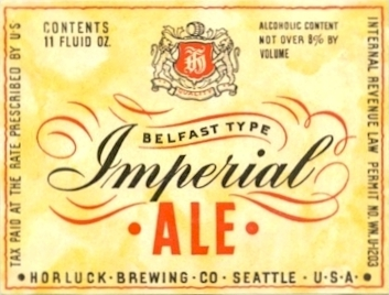 Horluck's Imperial Ale label - image