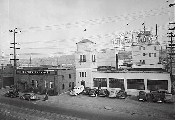 Sick's Century Brewery c.1939 - photo